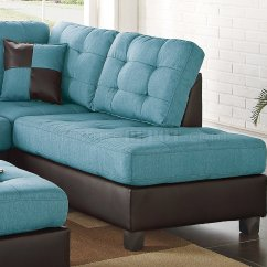 Room And Board Sectional Sofa Orange Corner Bed F6859 3pc In Teal Fabric By Boss