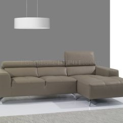 J M Paquet Sofa Small Traditional Sectional A978b In Burlywood Premium Leather By Andm