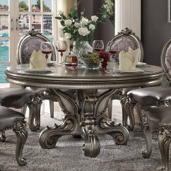 Sectional Sofas And Recliners Boston Sofascore Versailles Dining Round Table 66840 In Antique Platinum By ...