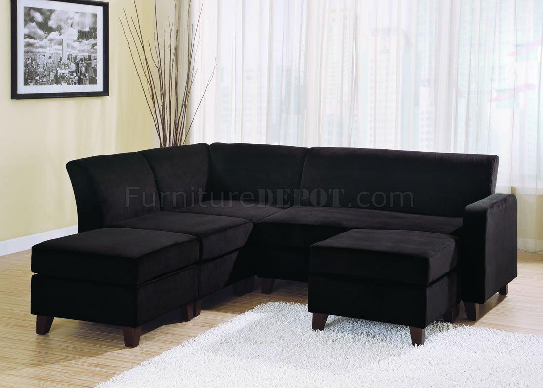 Sectional Sofa Chaise Lounge Microfiber