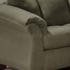 Discontinued Dining Room Chairs Ngt Fishing Chair Bag Olive Microfiber Modern Sofa & Loveseat Set W/optional Items