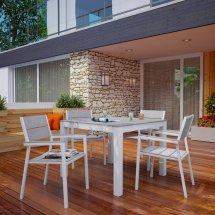maine 5 piece outdoor patio dining