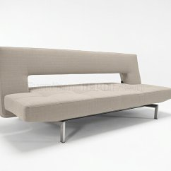 Contemporary Sofa Bed Furniture Slipcover For Camelback Black Or Grey Fabric Modern Convertible From