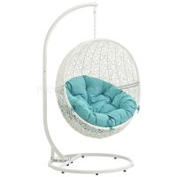 Hide Outdoor Patio Swing Chair White by Modway Choice of Color