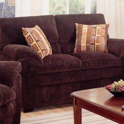 Corduroy Fabric Sofa Southern Beds Contact Modern Living Room 502521 Dark Chocolate