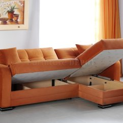Sofa Bed Color Orange Upholstery Brush For Kubo Sectional In Rainbow Fabric By Sunset