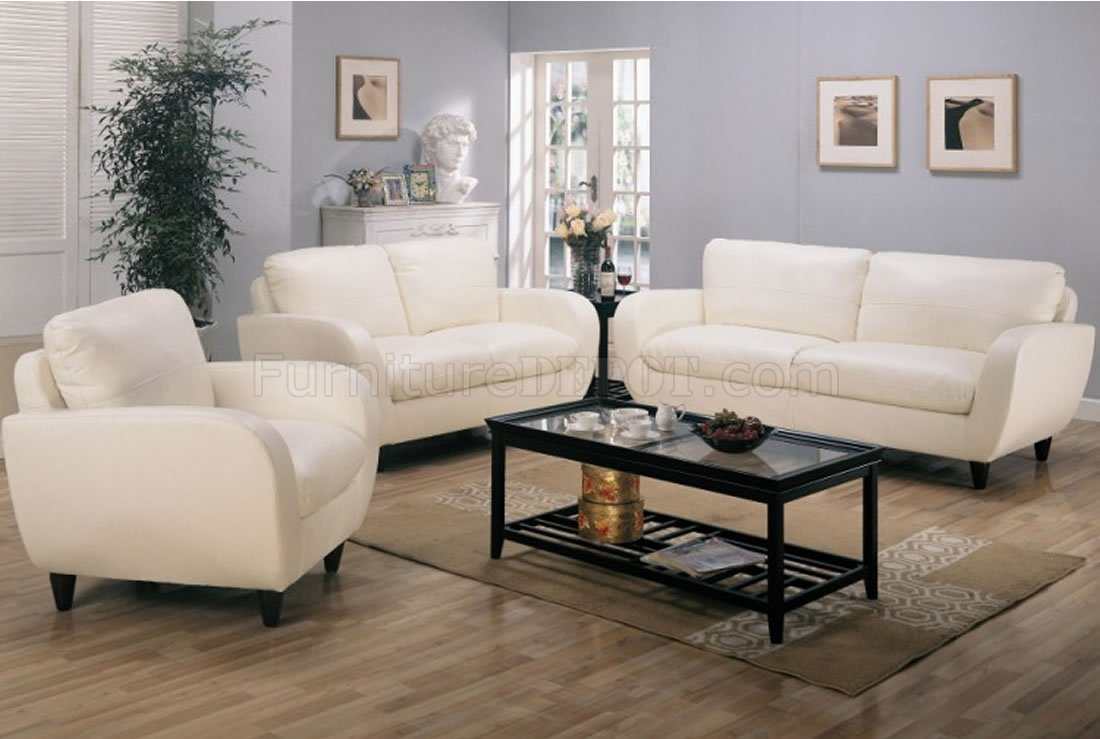 retro living room furniture sets how to decorate a very small apartment style leather 502391 white bonded w soft seating