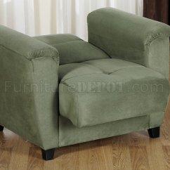 Sofa Microfiber Fabric How To Reupholster A No Sew Sage Living Room Storage Sleeper