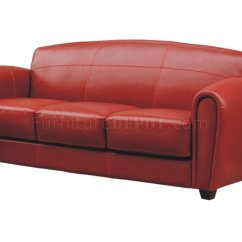 Red Leather Sofas And Chairs Moving Sofa Problem Solutions Full 2 Set