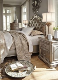 Birlanny Bedroom B720 in Silver Finish by Ashley Furniture