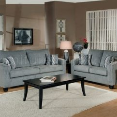 Modern Living Room Couches Wall Colors With Brown Sofas Grey Fabric Sofa Loveseat Set