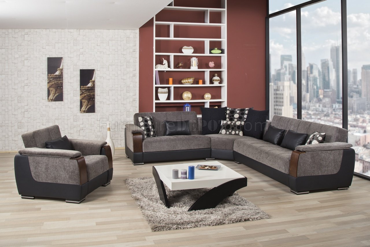 modena 2 seater reclining leather sofa poundex bobkona lexington reversible chaise sectional with ottoman grey coffee table and armchairs ezhandui com