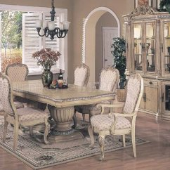 Antique White Dining Chairs Lowes Patio Finish Contemporary Set