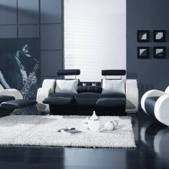 Living Rooms Sets Grey And Yellow Room Decor Ideas Black White Leather Modern 3pc Set T17