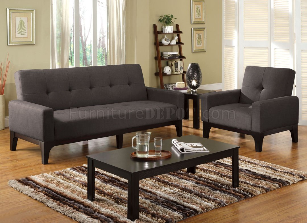 loft charcoal sofa bed plum colored leather cm2450 laporte in fabric w optional chair
