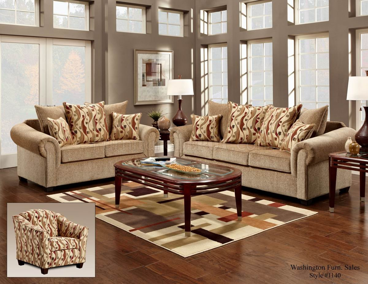 Couch Loveseat And Chair Set