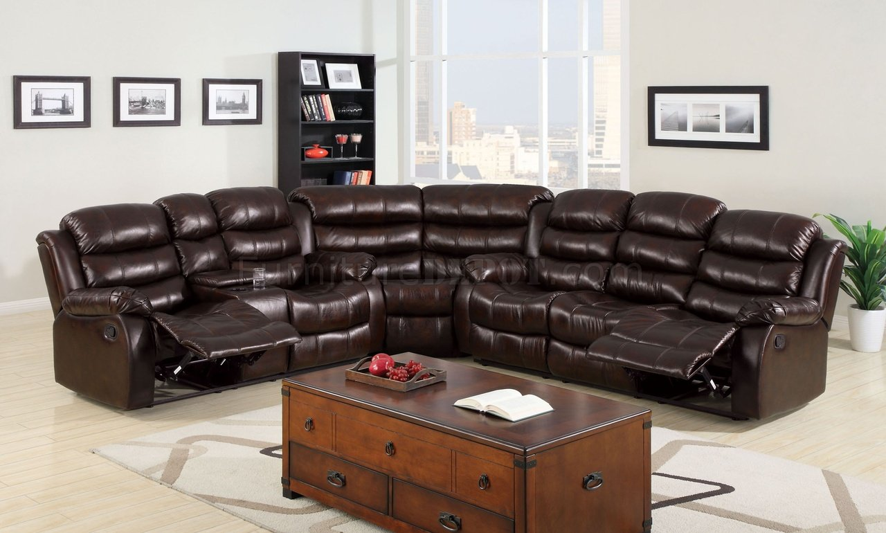 sectional recliner sofas slipcover uk winslow reclining sofa cm6556 in bonded leather