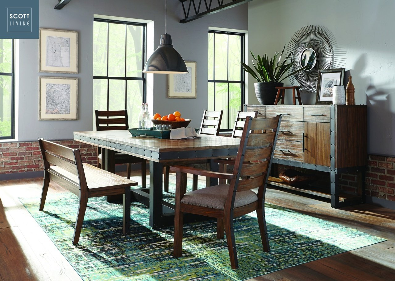 Atwater 107721 Scott Living Coaster Dining Table
