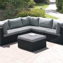 Outdoor Sofa Furniture Fusion Bed 407 Patio 6pc Sectional Set By Poundex W Options