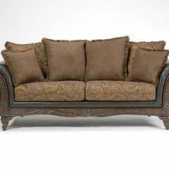 Classic Sofa Memory Foam Mattress Sleeper Chocolate Fabric And Loveseat Set W Optional Chaise