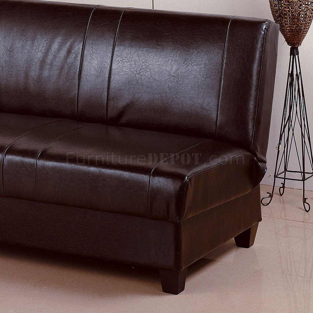 rome faux leather convertible sofa bed brown where to get in singapore deep contemporary
