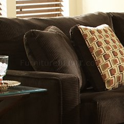 Oversized Pillows For Sofa Leather Ottawa Kijiji Viva Chocolate Fabric Modern Sectional W Large Back