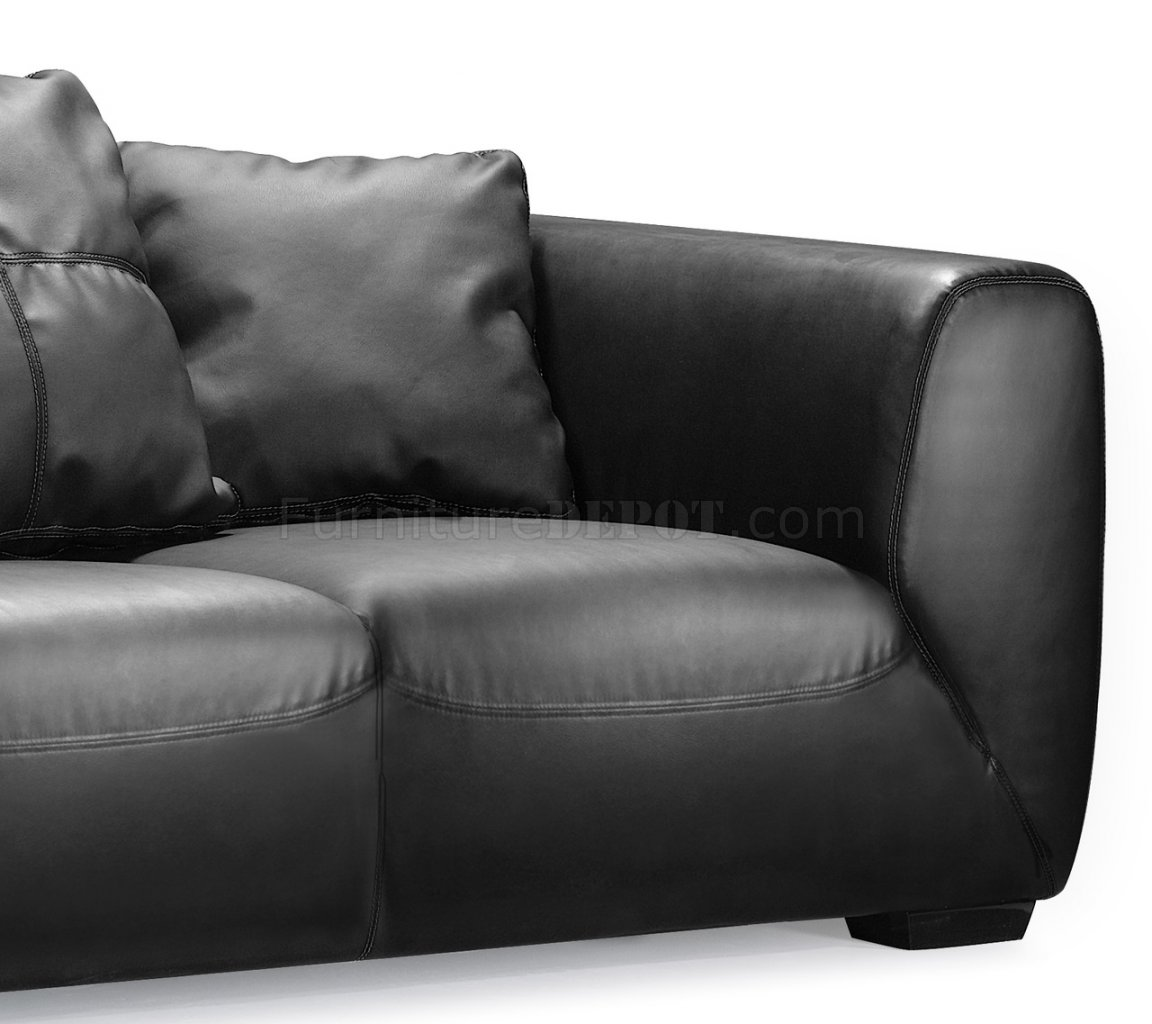 oversized outdoor sofa cushions how to replace leather covers black full contemporary with