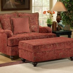 Loveseat And Chair A Half Pink Rocking Cushions For Nursery Wine Fabric Casual Sofa 43loveseat Set W Optional
