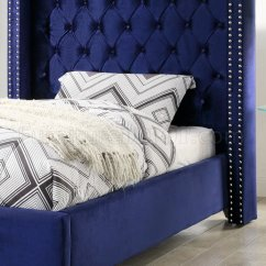 Kids Sofa Set Average Weight Of A Corner Aiden Bed In Royal Navy Velvet Fabric By Meridian W/options