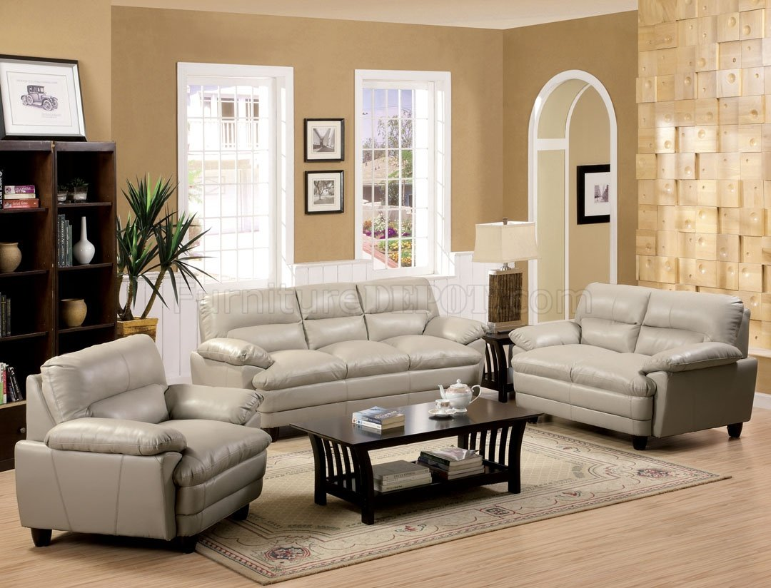 taupe color leather sofa ile club living divani cm6917lt winston in bonded match w options