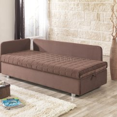 Day Night Sleeper Sofa Modern Set Pune Maharashtra And Bed In Brown Fabric By Casamode W Options