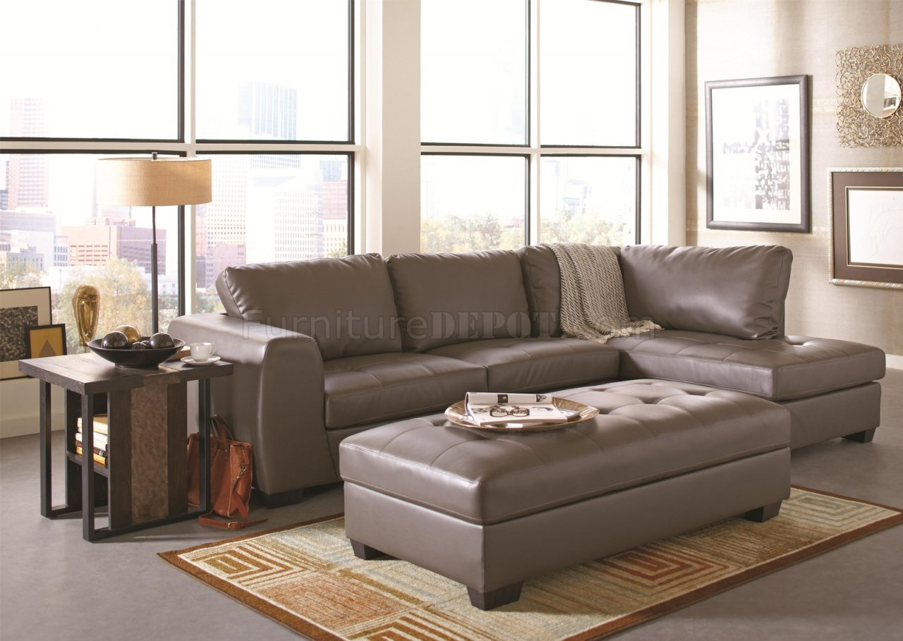 contemporary accent chairs with arms hon office chair 500805 joaquin sectional sofa in grey leatherette by coaster