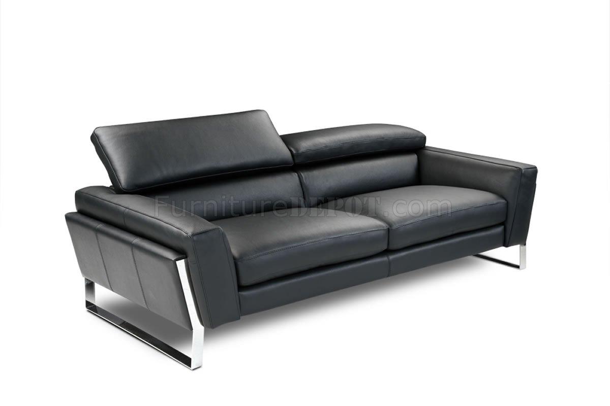 contemporary sofas and loveseats twilight sleeper sofa dwr black top grain italian leather modern w optional