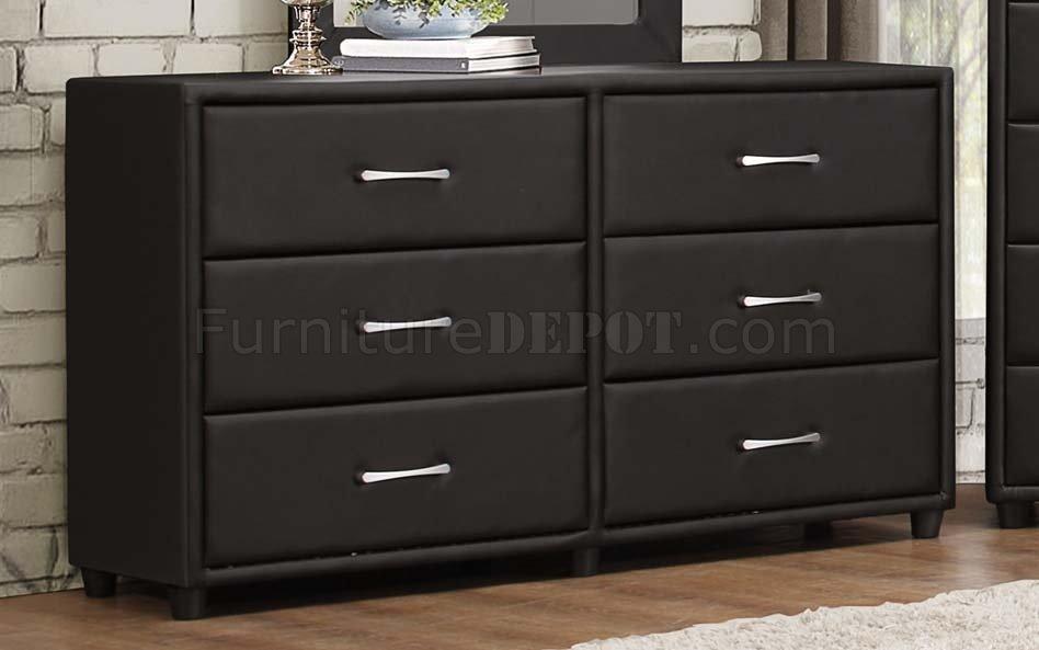 Lorenzi 2220 4Pc Kids Bedroom Set in Black by Homelegance