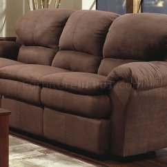 Microfiber Sofa And Loveseat Recliner Selig Imperial Chocolate Modern Double Reclining