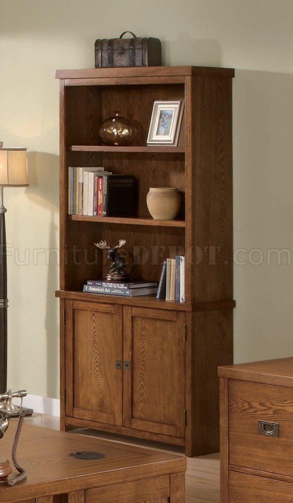 Light Wood Finish Classic Office Desk wAntiqued Finish