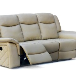 Motion Sofas Leather Sofa Small Carly 628 In Taupe Air W Optional Items