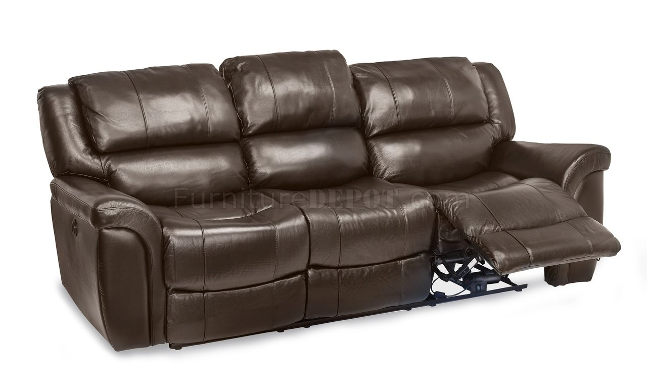 power reclining leather sofa sets century sofas loveseats dawson set in brown match by