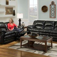 Bentley Leather Sofa Reviews Bi Fold Metal Futon Bed Frame Black Bonded Reclining And Loveseat Set