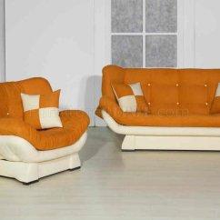 Vegas Futon Sectional Sofa Bed Queen Sleeper With Storage Leather Upholstery Dubai Orange Microfiber Carol ...