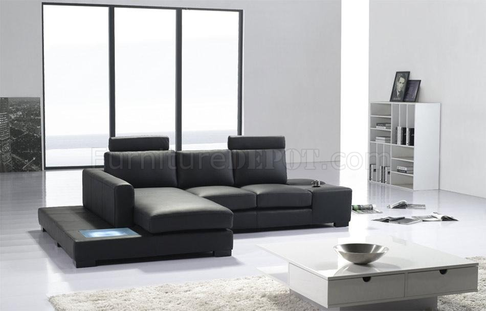 t35 mini modern white leather sectional sofa house of fraser range in black eco-leather w/ light