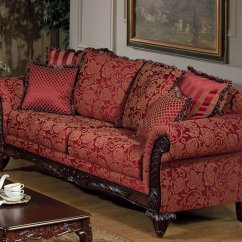 Red Fabric Sofa Grey Modena 2 Seater Coffee Table And Armchairs Traditional Loveseat Set W Optional Chaise