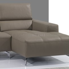 J M Paquet Sofa The Bed Company Uk A978b Sectional In Burlywood Premium Leather By Andm