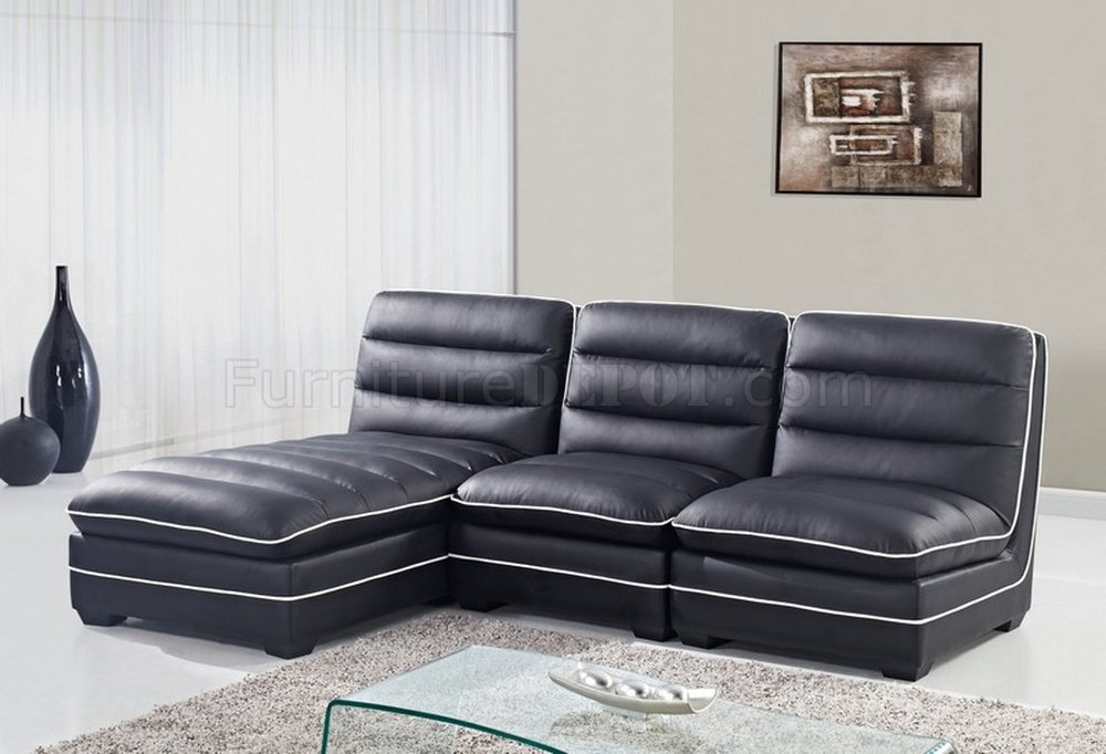 Leather Corner Sofa Chaise