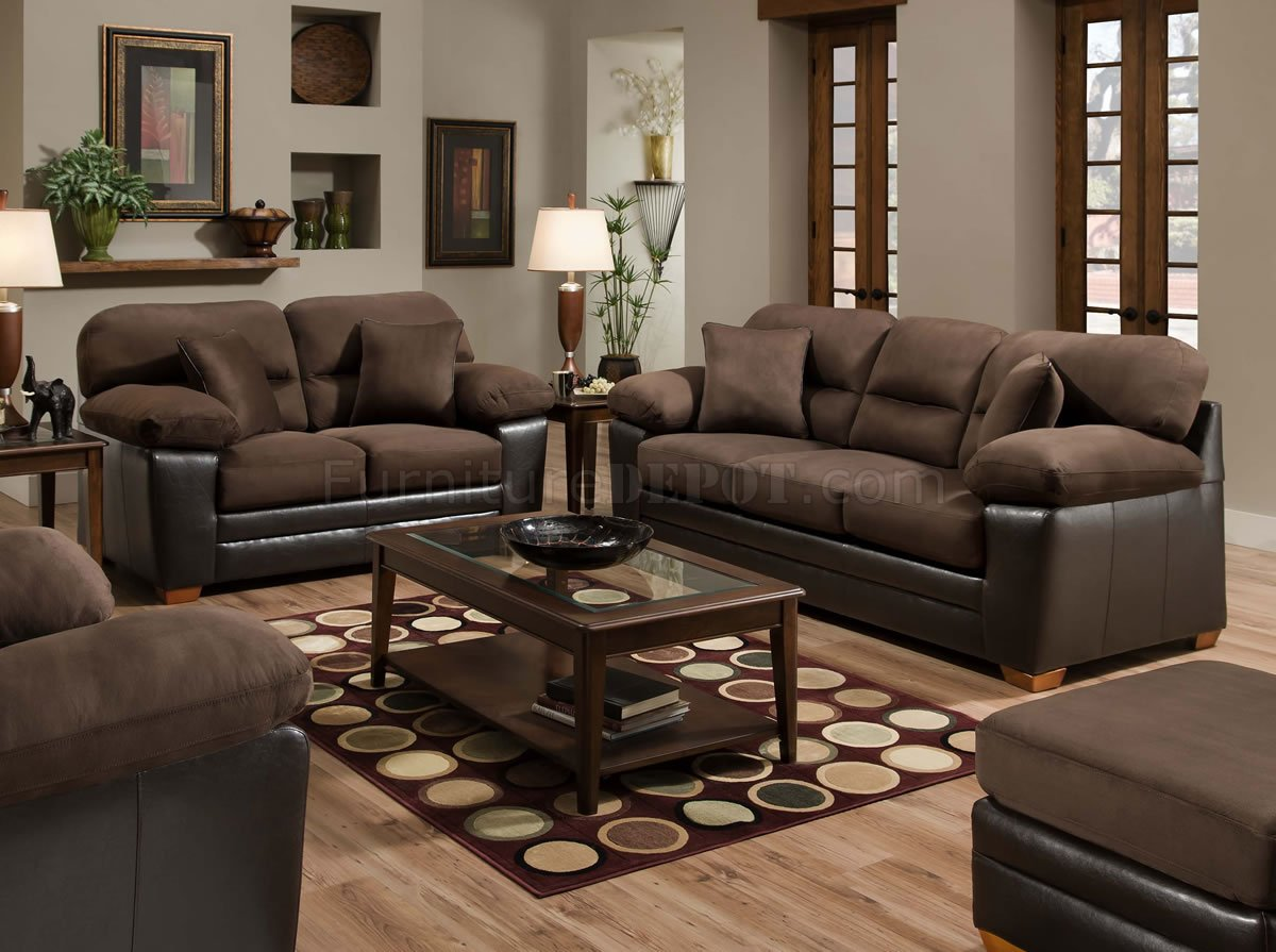 dark brown microfiber sofa hancock moore leather set