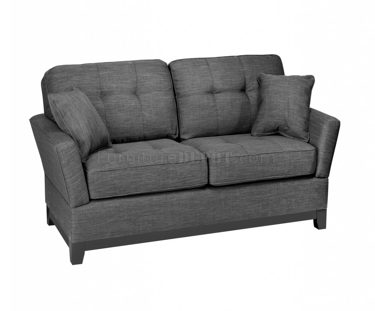 gray fabric sofa set baldwin opus and loveseat in by mstar w options