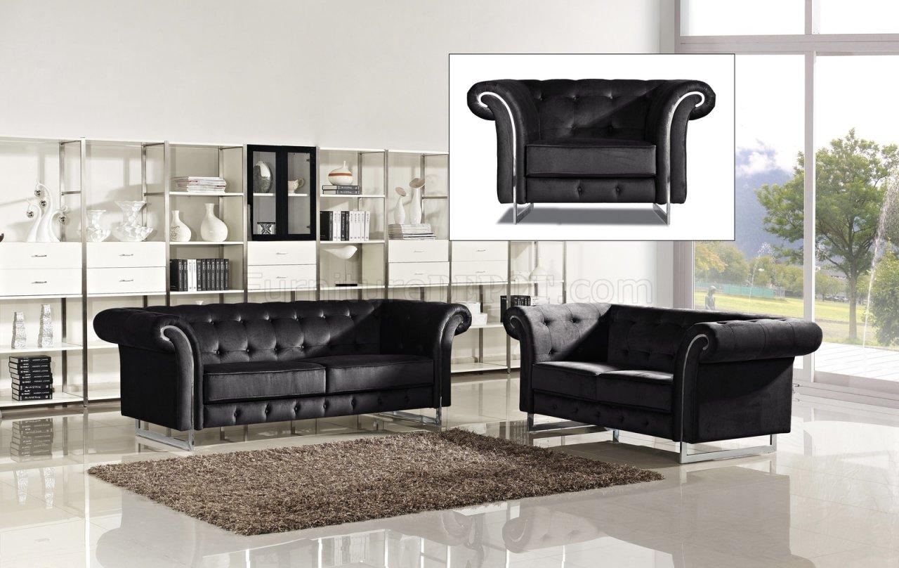 black velvet sofa living room inflatable intex porta 626bl in fabric w optional items