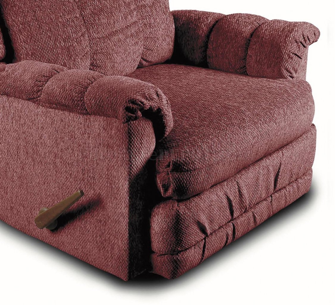 Chenille Cover Contemporary Deluxe Rocker Recliner