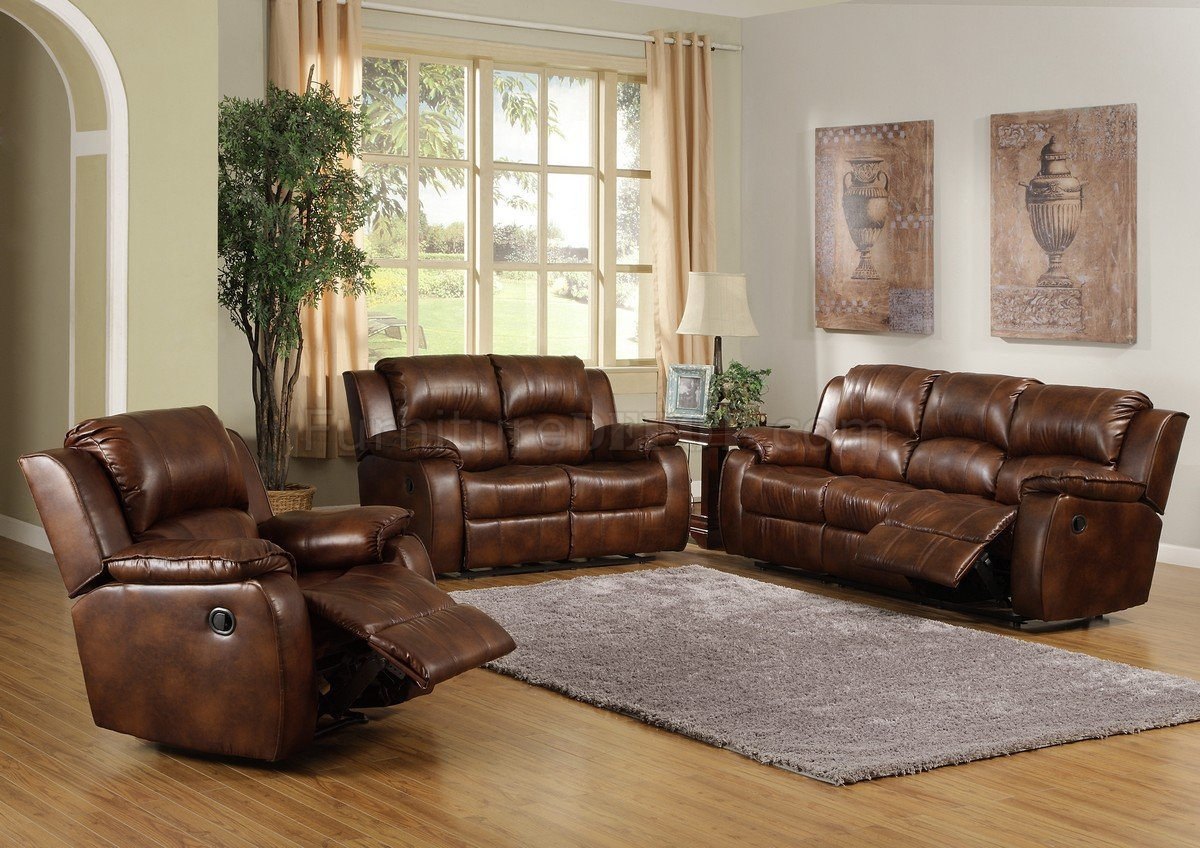 espresso bonded leather reclining sofa loveseat set real italian 9888 contemporary in warm brown by homelegance