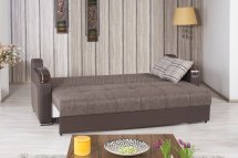 Divan Deluxe Sofa Bed In Brown Fabric Casamode Withoptions